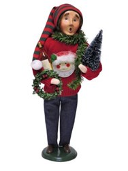 Byers' Choice Ugly Christmas Sweater Man Figurine No Color