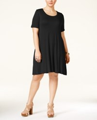 American Rag Plus Size Short Sleeve Skater Dress Only At Macy's