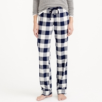 J.Crew Pajama Pant In Buffalo Check Flannel