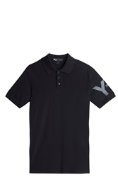 Y 3 Y3 Polo T Shirt Black
