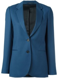 Paul Smith Two Button Blazer Blue