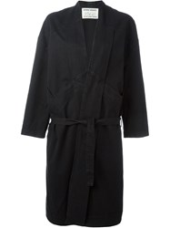 Henrik Vibskov 'Chock Long' Coat Black