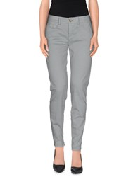 Maison Clochard Trousers Casual Trousers Women Grey