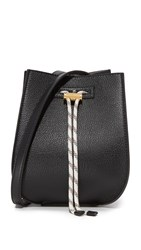 Maiyet Sia Mini Bucket Bag Black