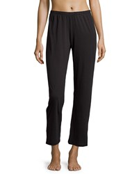 Skin Relaxed Fit Cropped Lounge Pants Black