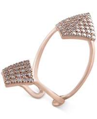 Effy Collection Pave Rose By Effy Diamond Ring 1 1 10 Ct. T.W. In 14K Rose Gold