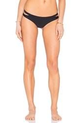 Rvca Seaward Cheeky Bikini Bottom Black