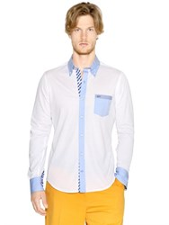 Paul And Shark Cotton Pique Button Down Shirt