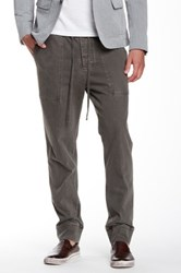 James Perse Patch Pocket Jogger Gray
