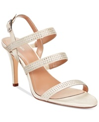Style And Co. Urey Evening Sandals Women's Shoes Ivory