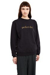 Undercover Perfect Day Sweater Black