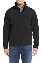 The North Face Men's 'Apex Bionic 2' Windproof And Water Resistant Soft Shell Jacket Tnf Black Tnf Black