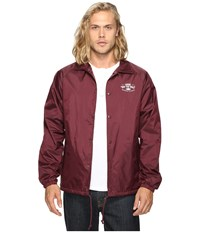 Vans Torrey Port Royale Men's Coat Burgundy