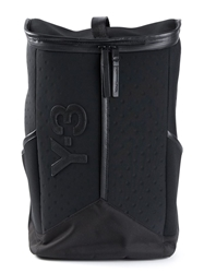 Y 3 Leather Trim Backpack