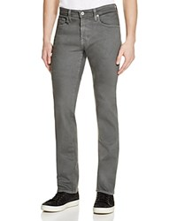 Ag Jeans Matchbox Slim Fit Jeans In Bleached Sand 100 Bloomingdale's Exclusive Grey
