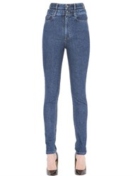 Y Project Skinny High Waisted Cotton Denim Jeans