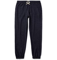 Oliver Spencer Loungewear Pencer Melange Terry Weatpant Navy