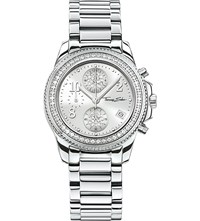 Thomas Sabo Glam And Soul Zirconia Chronograph Watch