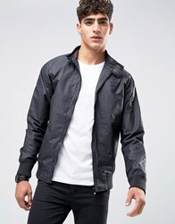 Firetrap Waxed Harrington Jacket Black