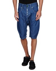 Humor Denim Denim Bermudas Men Blue