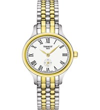 Tissot T103.110.22.033.00 Bella Ora Piccola Gold Plated And Stainless Steel Watch