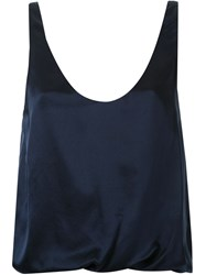 3.1 Phillip Lim Loose Fit Tank Top Blue