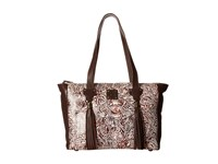Sts Ranchwear The Darling Ii Tote Cream Brown Tote Handbags