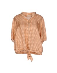 Momoni Momoni Shirts Blouses Women Skin Color