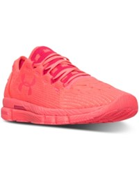 Under Armour Women's Speedform Slingshot Neon Running Sneakers From Finish Line Pink Chroma