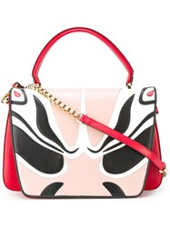 Giancarlo Petriglia Abstract Pattern Tote Red