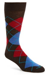 Lorenzo Uomo Men's 'Traditional Argyle' Socks