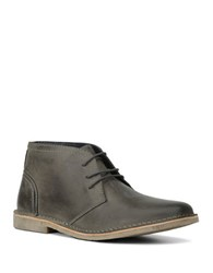 Marc New York Walden Leather Lace Up Chukka Boots Grey