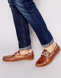 Red Tape Boat Shoes Tan