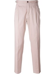 Dolce And Gabbana Gabardine Chinos Pink And Purple