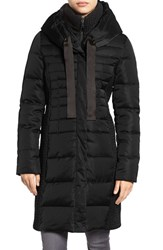Tahari Women's Quinn Down And Feather Coat