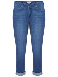 White Stuff Southern Ocean Cropped Jeans Dark Denim