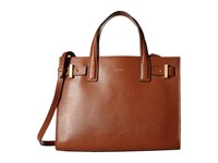 Lodis Stephanie Under Lock Key Tara Satchel Chestnut Satchel Handbags Brown