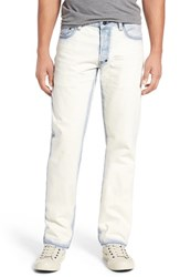 Prps Men's Big And Tall 'Barracuda' Straight Leg Jeans Enzyme