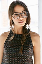 Urban Outfitters Charlotte Rounded Readers Grey