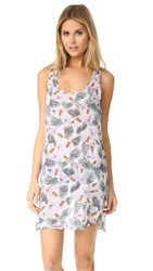 Surf Bazaar Floral Print Racer Cover Up