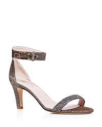 Kate Spade New York Elsa Ankle Strap Mid Heel Sandals Bronze