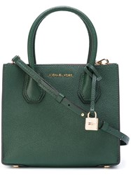 Michael Michael Kors Removable Strap Medium Tote Green