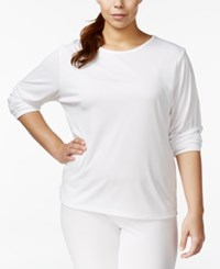 Cuddl Duds Climatesmart Plus Size Long Sleeve T Shirt