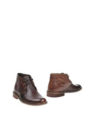 Roberto Pepe Ankle Boots Cocoa
