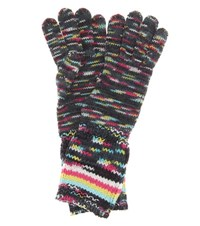 Missoni Knitted Wool And Cashmere Blend Gloves Multicoloured