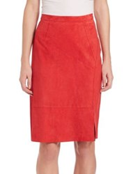 Elie Tahari Regina Skirt Sunset Heat