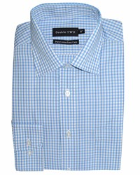 Double Two Formal Shirt Blue