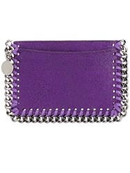 Stella Mccartney 'Falabella' Card Holder Pink And Purple
