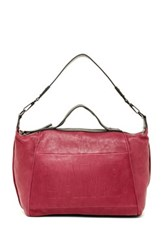 L.A.M.B. Happy Leather Tote Red
