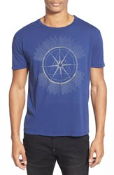 Project Social T 'Nautical Bound' Graphic T Shirt Indigo